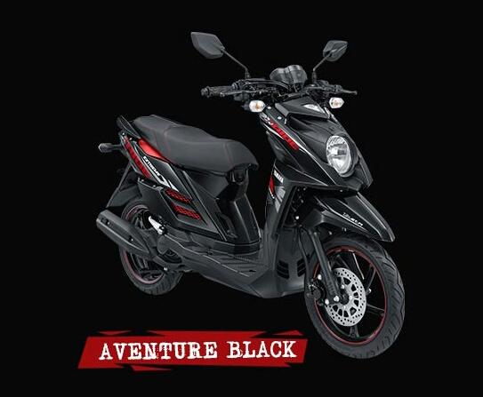 Yamaha X Ride Se Hitam top