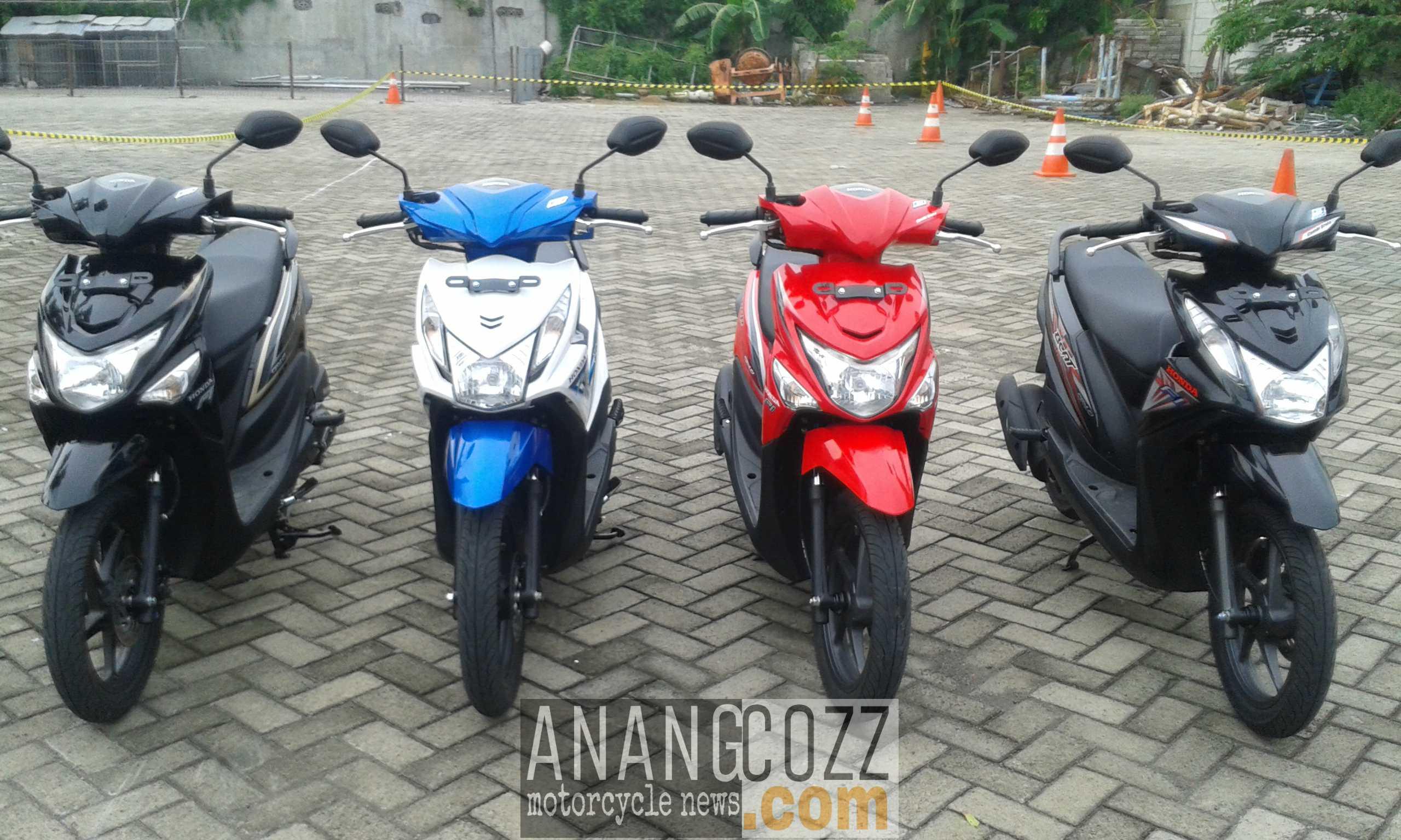 Galeri Perbedaan Desain All New Honda Beat ESP Dengan All New Honda