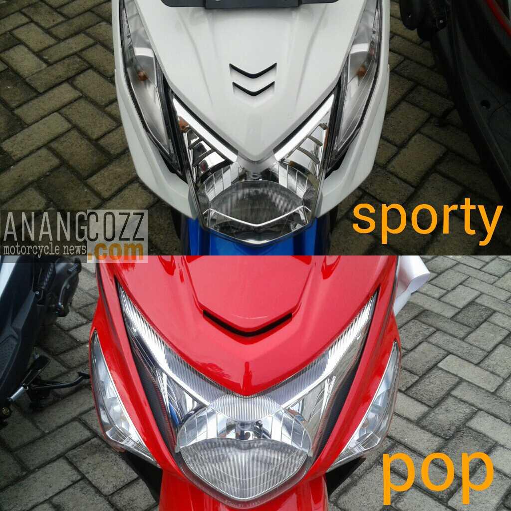 Galeri Perbedaan Desain All New Honda Beat Esp Dengan Sporty Cbs Iss 2017 Image
