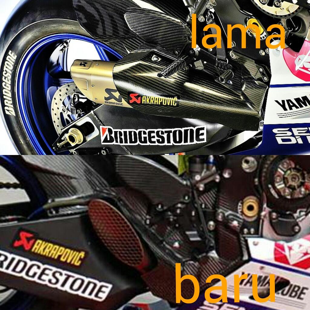 Movistar Yamaha Menguji Cover Knalpot Baru Untuk ...