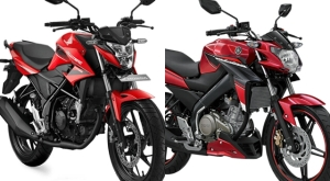 new CB150R vs NVA