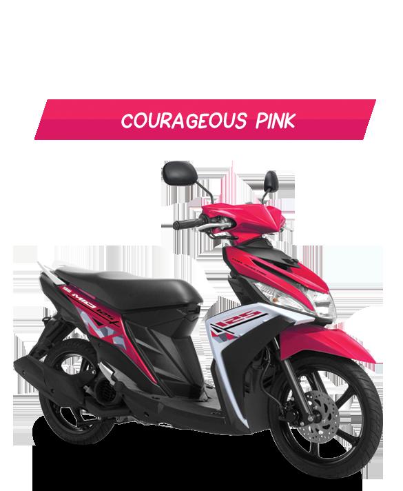 ide modifikasi mio m3 merah muda