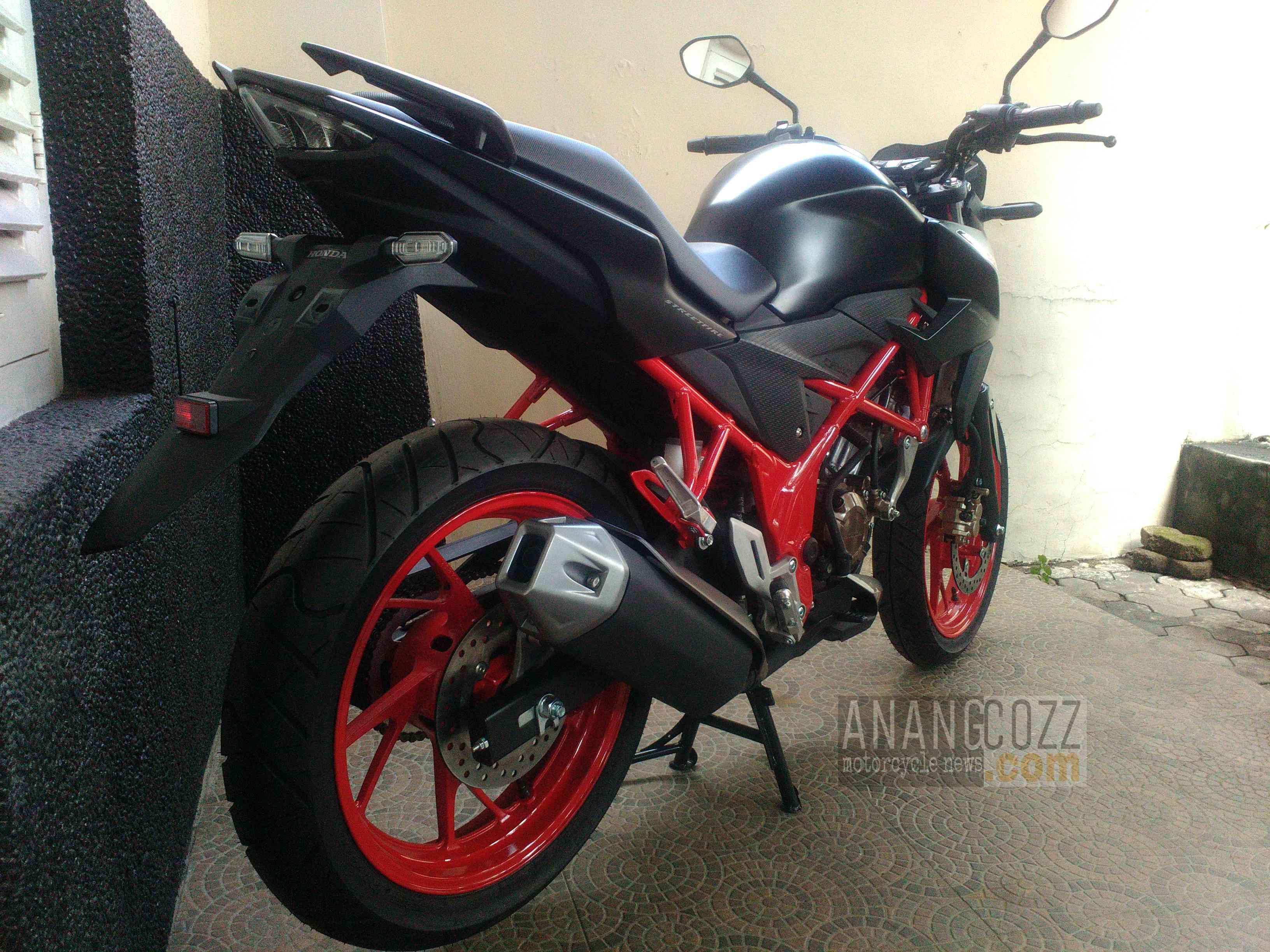 103 Modifikasi Motor Cb 150 R Warna Merah Modifikasi Motor Honda