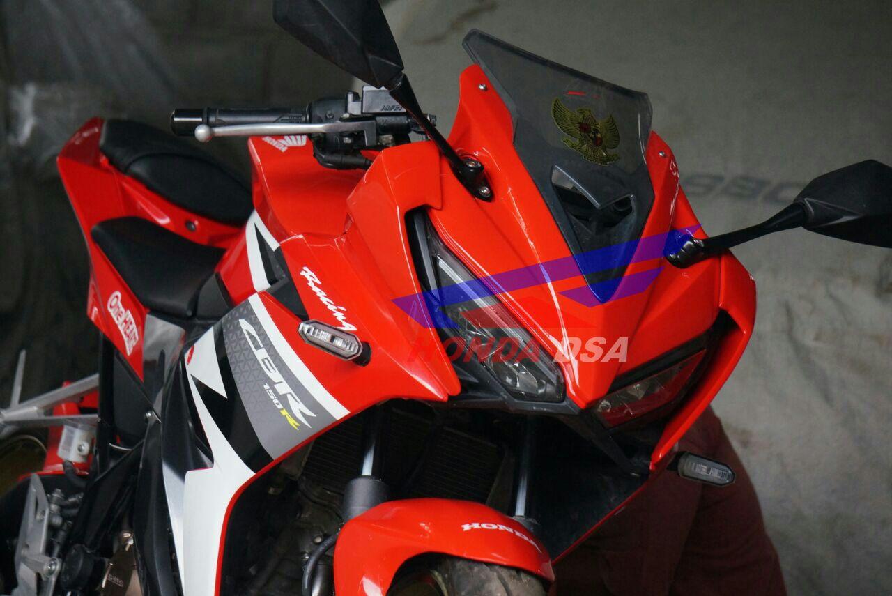 Modifikasi Honda Cbr150r Terlihat Lebih Kekar By Honda Dsa Cekidot Anangcozz Blog