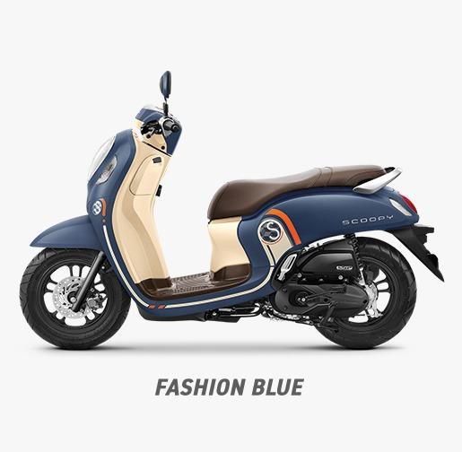 Fitur dan Pilihan Warna All New Honda Scoopy2021
