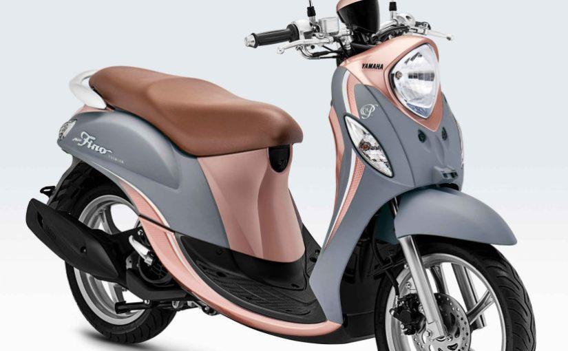 Tampilan Warna Baru Yamaha Fino 125 Premium Makin Fashionable DanStylish