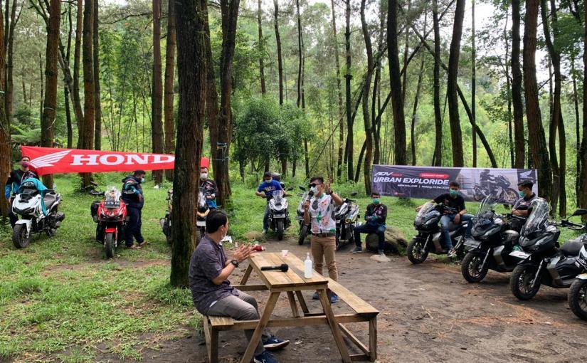 MPM Honda Jatim Ajak Komunitas ADV150 Explore Tempat Wisata DiMalang
