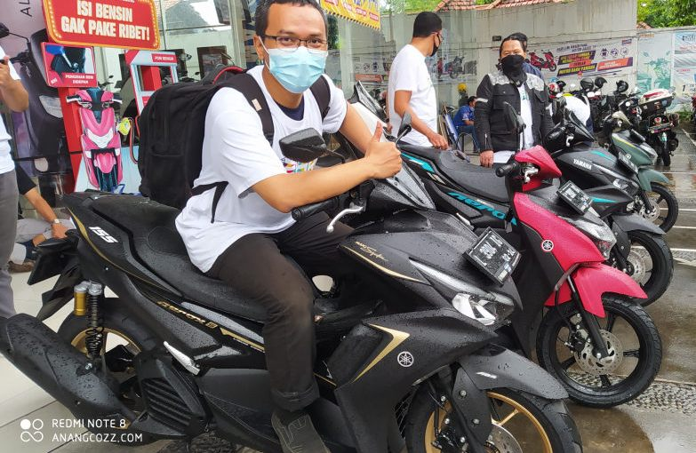 Awal Tahun All New Yamaha Aerox 155 Connected Laris Manis!