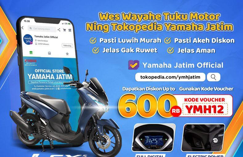 Spesial Bulan Desember, Yamaha Jatim Tebar Diskon Akhir Tahun2020