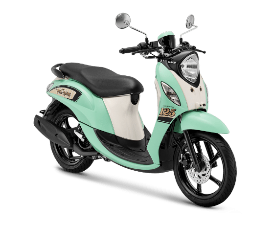Yamaha Luncurkan Warna Baru Fino Sporty2021