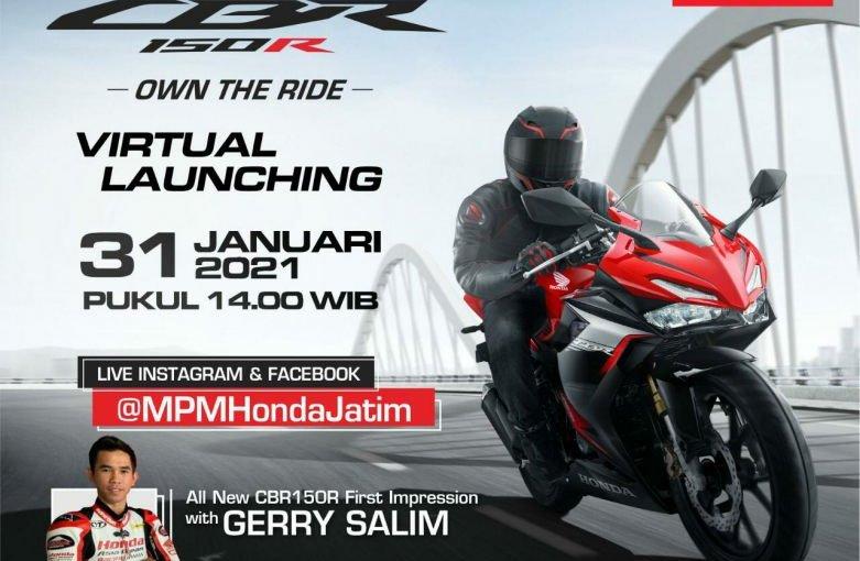 Virtual Launching All New Honda CBR150R Di Jatim Dan First Impression Bersama GerrySalim