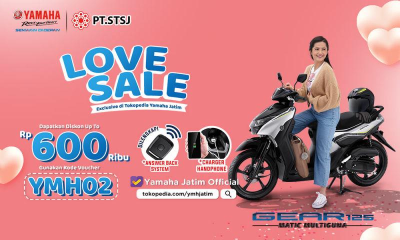 Promo LOVE SALE Yamaha Jatim, Beli Motor Tanpa DP diTokopedia