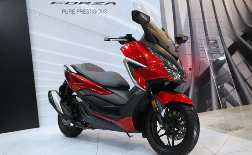 Resmi Meluncur, Honda Forza Semakin Mewah danPrestisius