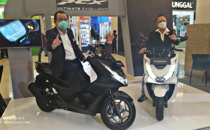 All New Honda PCX 160 Resmi Meluncur Di Jatim & NTT, Lebih Beringas danMewah!