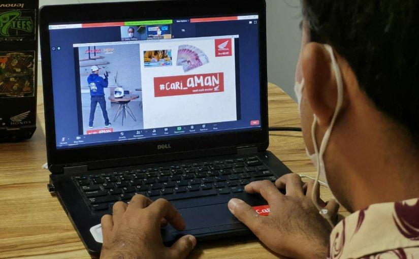 MPM Honda Jatim Edukasi Safety Riding Online Karyawan Di 3Perusahaan