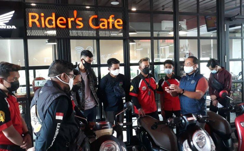 MPM Riders Cafe, Tempat Nongkrongnya Komunitas Honda diSurabaya