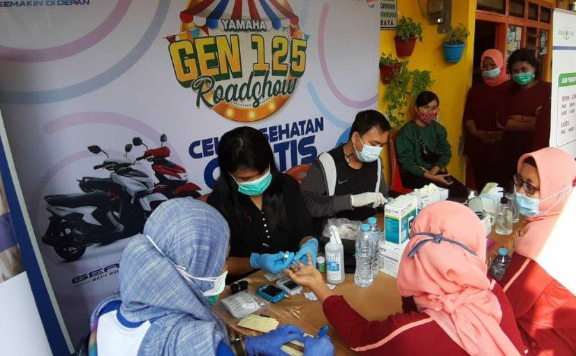Peduli Kesehatan, Yamaha Jatim Bantu Masyarakat LawanPandemi