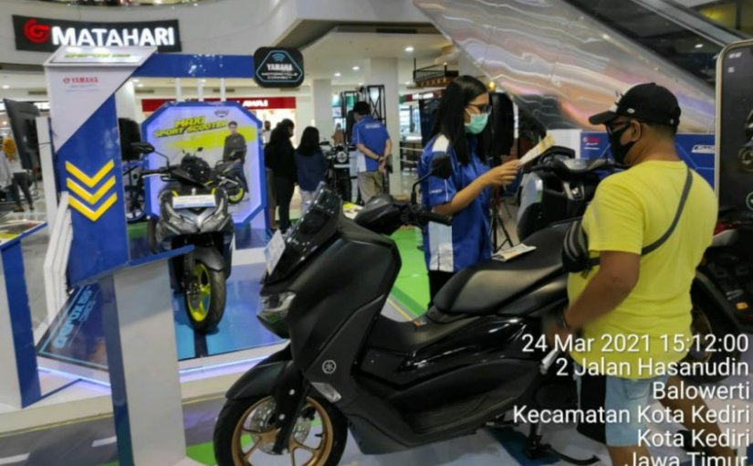 Yamaha Edukasi Masyarakat Terkait Produk dan Teknologi Terbaru Di MaxiExhibition