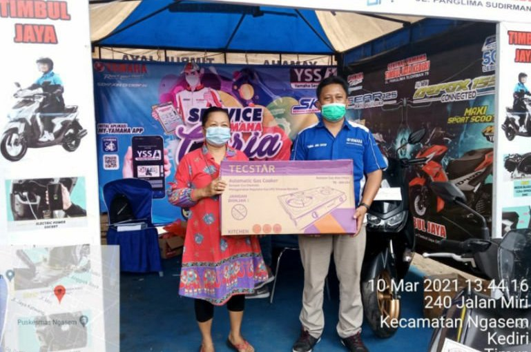 Yamaha Madiun-Kediri Adakan Program Service MotorBerhadiah