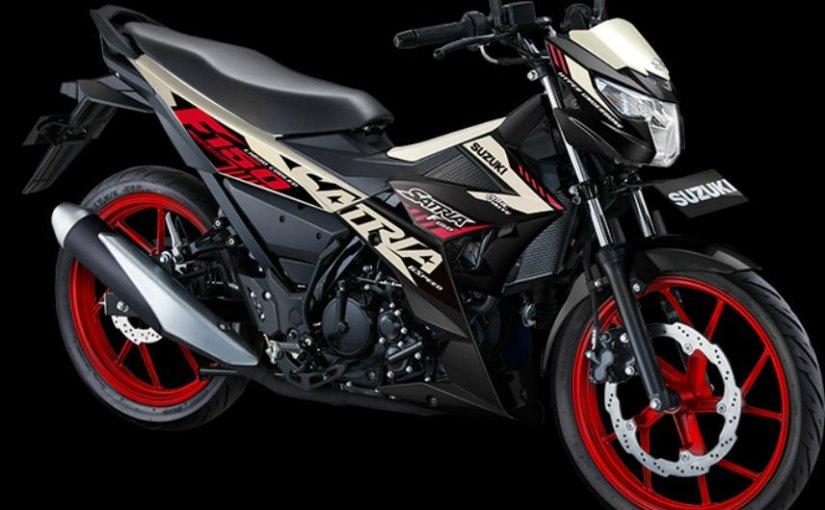 Warna Stripe Baru Suzuki Satria F1502021