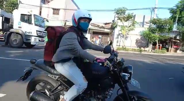 """Ketika """"JISEL"""" Lady Bikers Berjiwa Kartini Naik YamahaXSR155"""