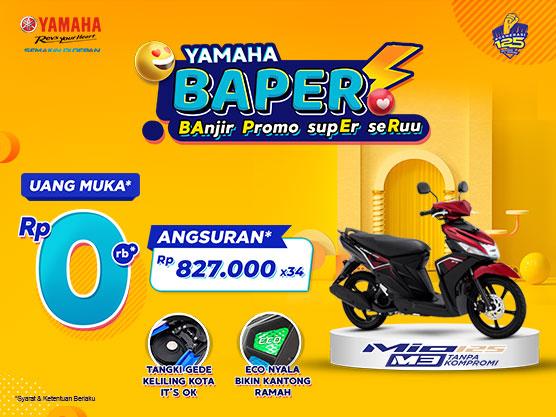 Spesial Ramadhan, Yamaha Jatim Berikan Promo DP 0Rupiah