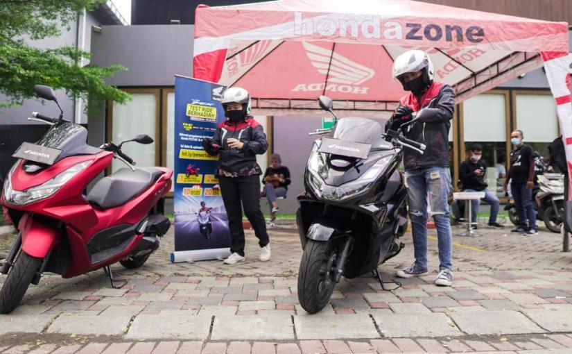 Test Ride Motor All New Honda PCX Berhadiah Motor,Mantul!