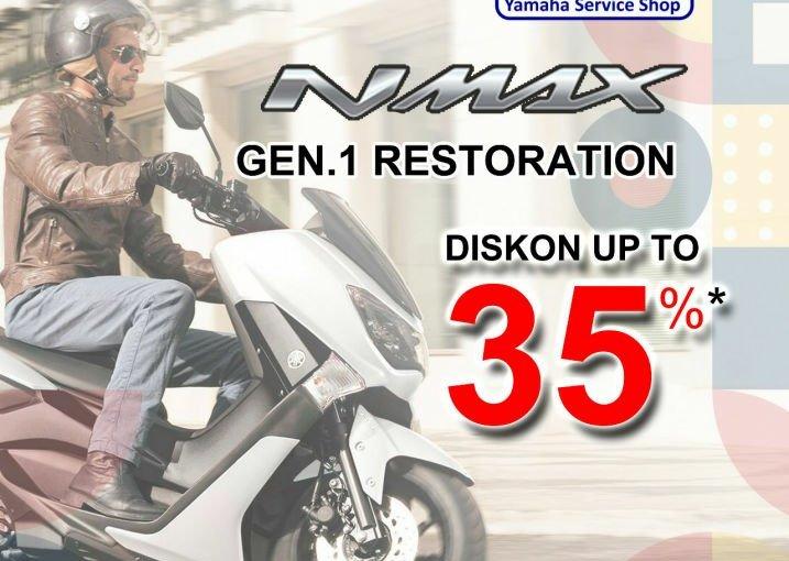 Promo Treament Special Untuk Pengguna Yamaha Nmax, Vixion DanMio!