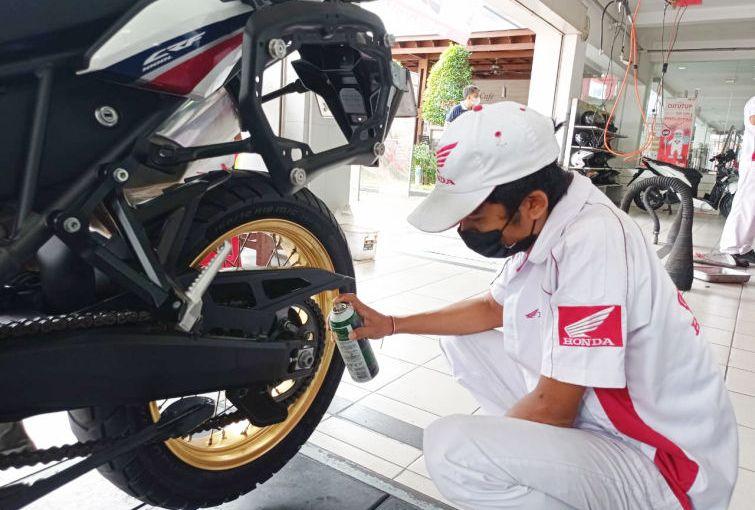 Penting!! Ini Cara Merawat Rantai Roda SepedaMotor