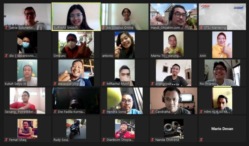 Lama Gak Ngumpul Bareng, Yamaha Jatim Ajak Gathering Media DanBlogger