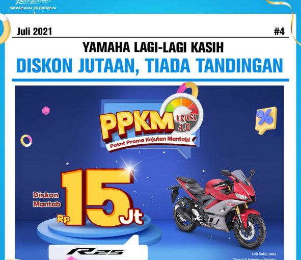 Yamaha Jatim Berikan Diskon PPKM Level 4.0 Hingga 15Juta!!